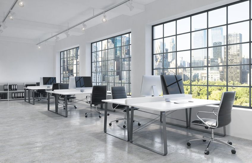 Coworking office cleaning